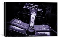 F1 formula one race car, Canvas Print
