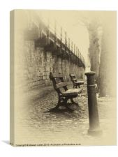 Chester collection - vintage chester 1, Canvas Print