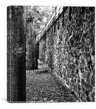 Chester collection - B&W 2, Canvas Print