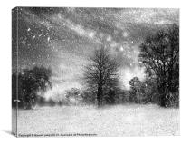 Photoshop collection 7 - finding shelter, Canvas Print