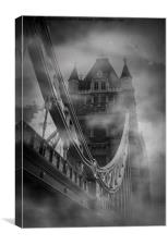 Tower Bridge 1894 London, Canvas Print