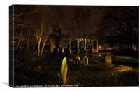 St Catherines Chapel Ruins, Canvas Print