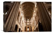 Cathedral Ceiling, Canvas Print
