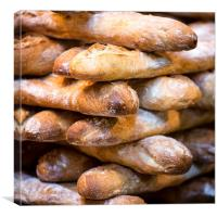 French Bread, Canvas Print
