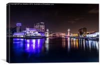 Salford Quays - Manchester, Canvas Print