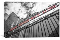 Anfield - The Shankly Gates, Canvas Print