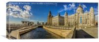 From Leeds to Liverpool, Canvas Print