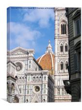 Close up on Florence, Canvas Print