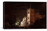 St.Marys Church Kidderminster, Canvas Print