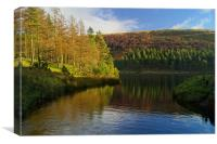 Howden Reservoir,Peak District, Canvas Print