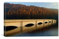 Ladybower Viaduct,Peak District, Canvas Print