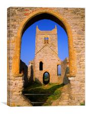 Burrow Mump, Canvas Print