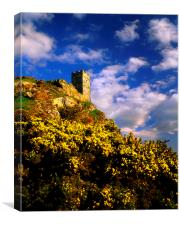 Brent Tor, Canvas Print