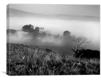 Peveril Castle, Canvas Print