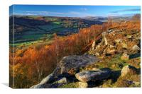 Froggatt Edge, Canvas Print
