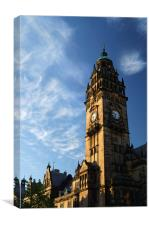 Sheffield Town Hall, Canvas Print