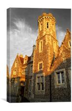 Purbeck House Hotel, Canvas Print