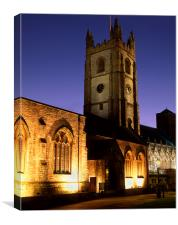 St Andrews Church, Plymouth, Canvas Print