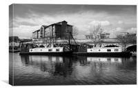 Victoria Quays, Sheffield, Canvas Print