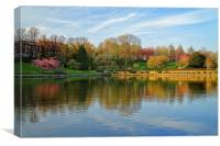 Crookes Valley Park, Sheffield, Canvas Print