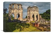 Roche Abbey Ruins, Canvas Print
