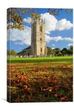 St Peter and St Paul's Church, Sturton-le-Steeple , Canvas Print