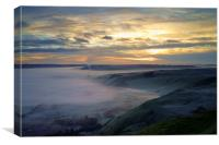 Hope Valley Sunrise 2, Canvas Print