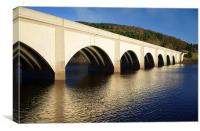Ashopton Viaduct and Ladybower, Canvas Print