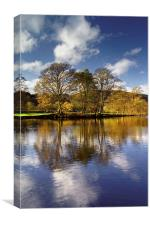 Derwent Reflections 2 , Canvas Print