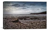 St Audries Bay, Somerset                          , Canvas Print