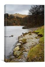 Rydal Water , Canvas Print