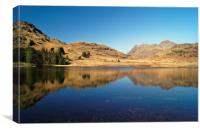 Blea Tarn Reflections                     , Canvas Print