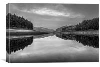 Howden Reservoir in Mono, Canvas Print