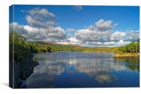 Burrator Reservoir                      , Canvas Print