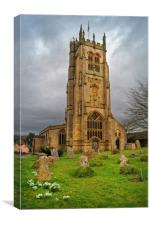 St Mary's Church,Beaminster,Dorset                , Canvas Print