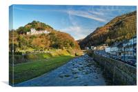 Lynmouth                      , Canvas Print