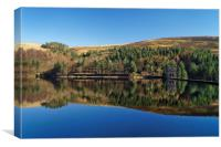 Derwent Reflections, Canvas Print