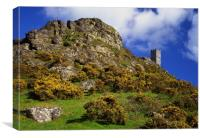 Brent Tor & St Michael De Rupe Church, Canvas Print