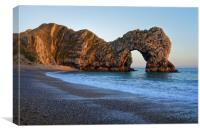Durdle Door                               , Canvas Print