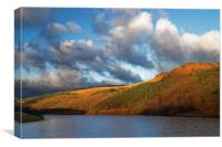 Ladybower in Autumn                      , Canvas Print