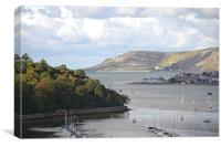 View from Conwy Castle, Canvas Print