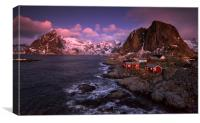 Lofoten Dawn  , Canvas Print