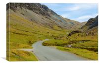 Honister Pass Cumbria, Canvas Print