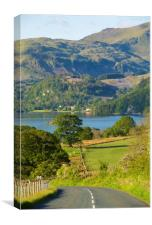 Ullswater View, Canvas Print