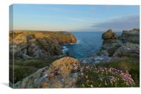 Pordenack Point Lands End, Canvas Print