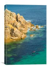 Porthgwarra Cove, Canvas Print
