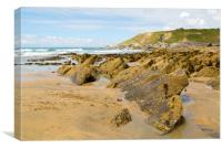 Dollar Cove Gunwalloe, Canvas Print