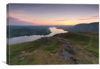 Hallin Fell Sunrise, Canvas Print