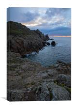 Hella Point Gwennap Head, Canvas Print