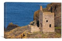 The Crown Engine Houses, Canvas Print